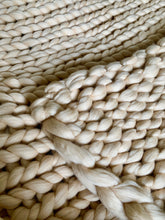 Load image into Gallery viewer, Hand Made Chunky Merino Blanket