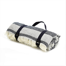 Load image into Gallery viewer, Recycled Crosshatch Picnic Rug - 3 colours available