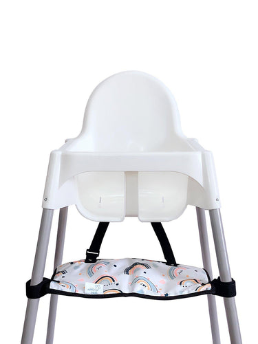 Footsi® High Chair Footrest - Rainbow - mytinyfingers baby products