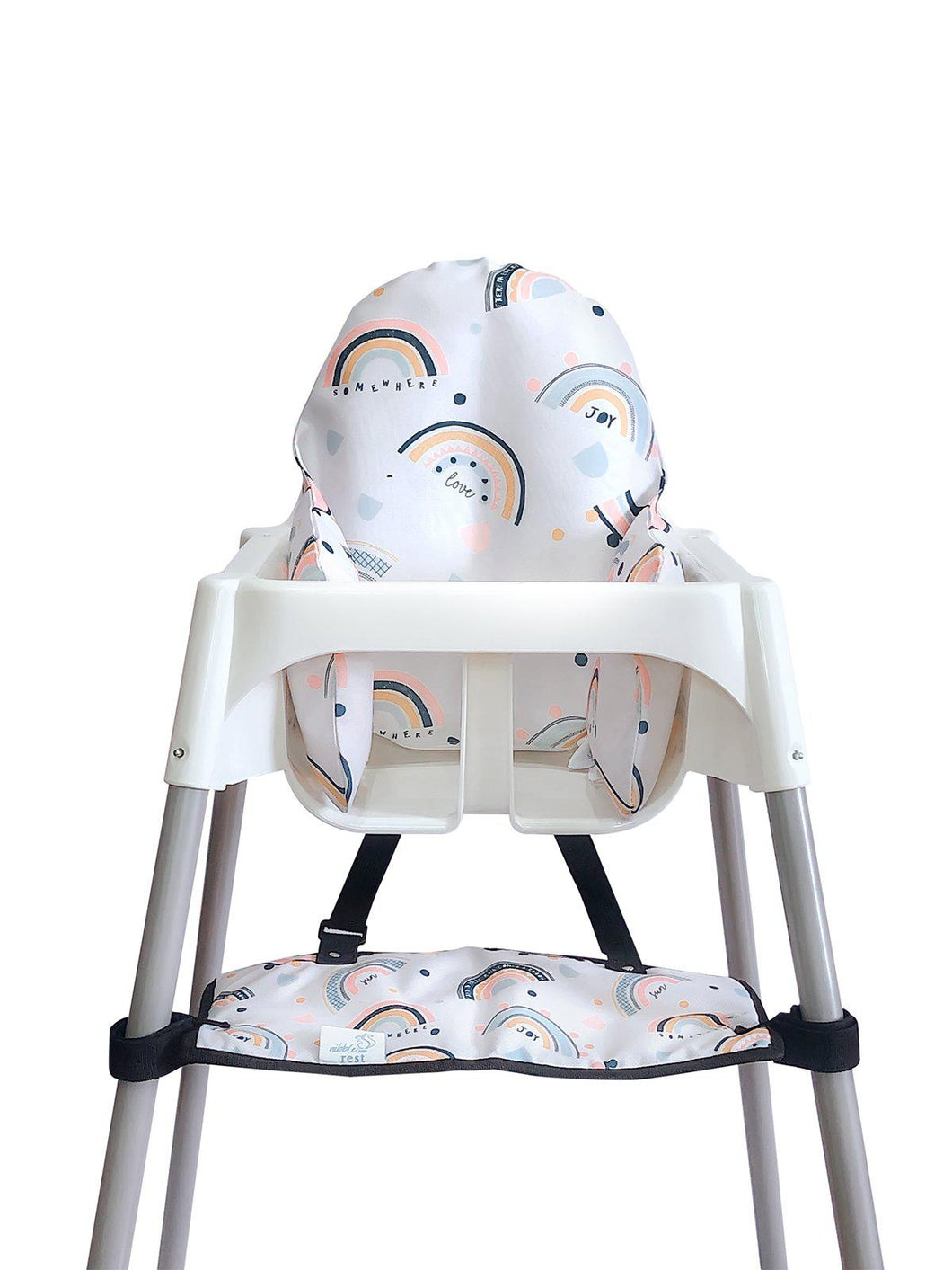 High Chair Cushion Cover - Rainbow - mytinyfingers baby products