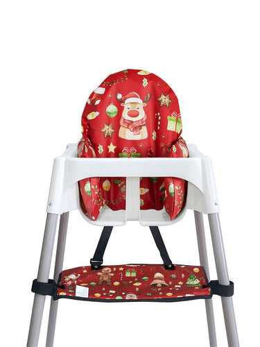 High Chair Cushion Cover - Sweet Christmas - mytinyfingers baby products