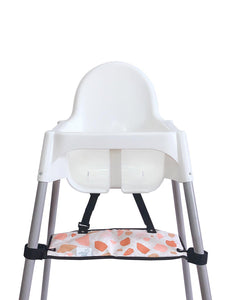 Footsi® High Chair Footrest - Terrazzo - mytinyfingers baby products