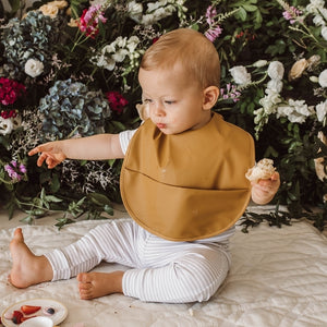 Snuggle Bib Waterproof - Byron - mytinyfingers baby products