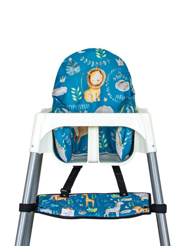 High Chair Cushion Cover - Safari - mytinyfingers baby products