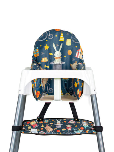 High Chair Cushion Cover - Circus - My Tiny Fingers