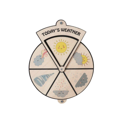 Learning Wheels - Today's Weather - mytinyfingers baby products