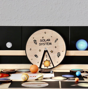 Learning Wheels - Solar System - mytinyfingers baby products