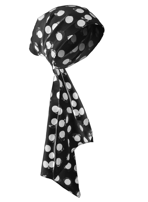 Hera Polka Dots Black - Turban - We Are Goddess Society