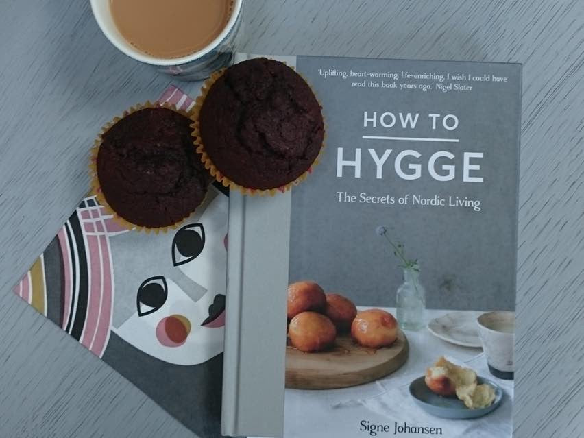 Dark Chocolate Muffin Recipe from How to Hygge by Signe Johansen