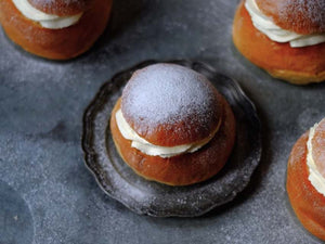 How to bake Swedish Semlor Buns