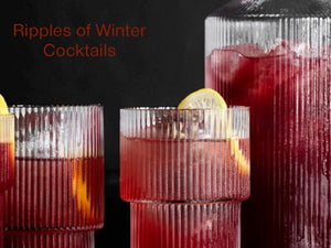Ripples of Winter Cocktails