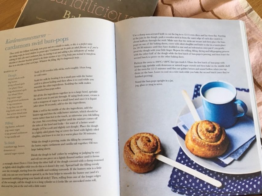 Swirl Bun Pops from the Scandilicious baking Book. Photo by Tara Fisher