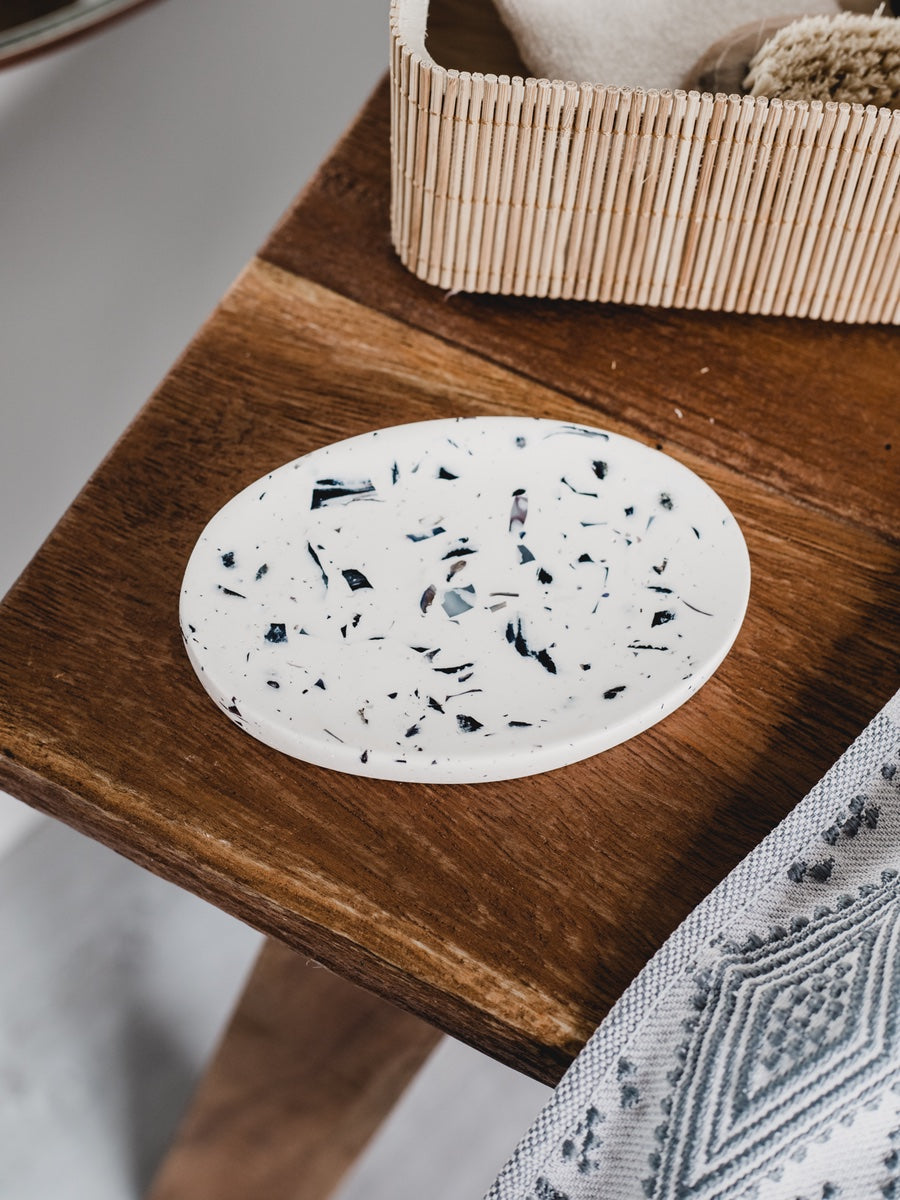 Badger & Birch Terrazzo Soap Dish - Cloudberry Living