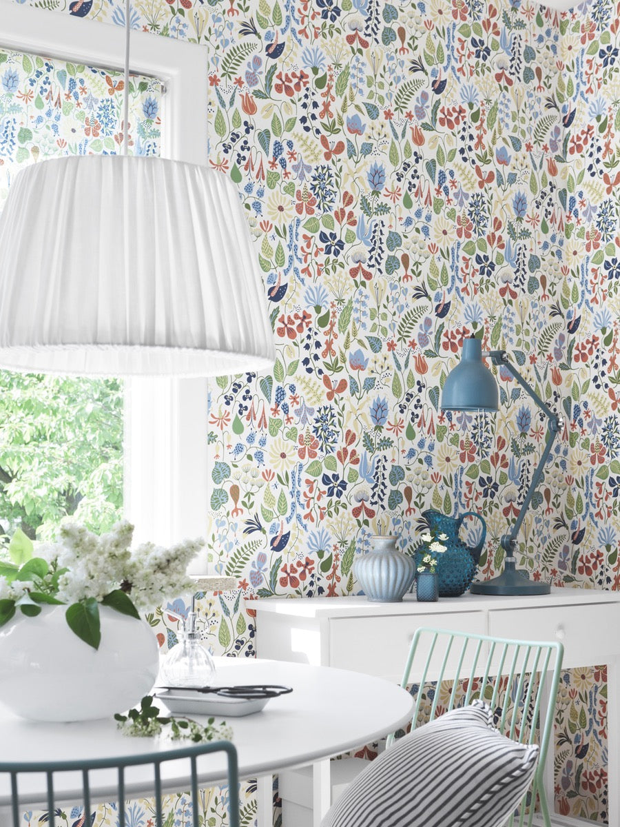 Borastapeter Scandinavian Designer 1 Wallpaper Herbarium, 2743- 2744, By Stig Lindberg - Cloudberry Living