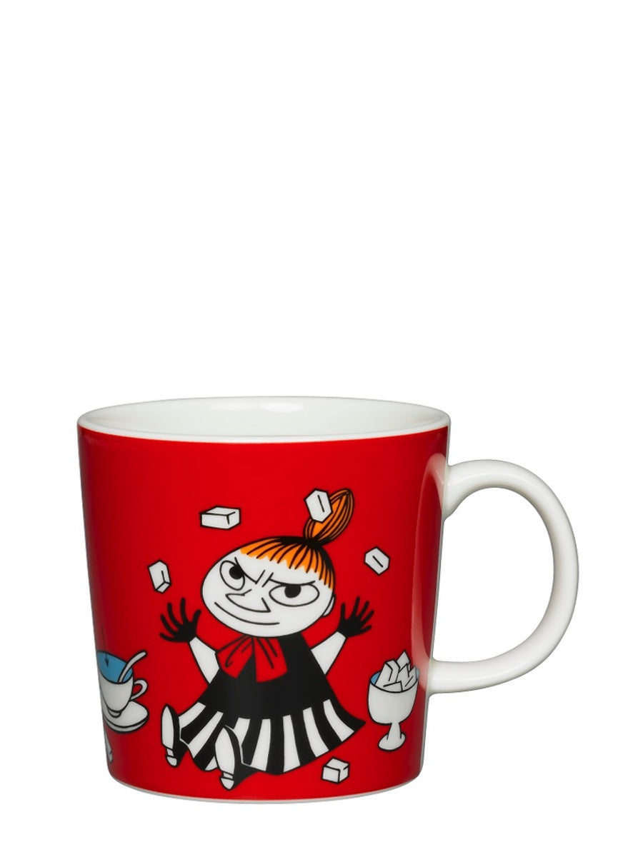 Arabia Moomin Mug: Little My Red - Cloudberry Living
