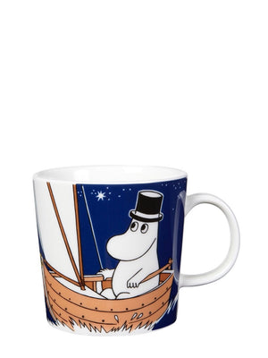 Arabia Moomin Mug: Moominpappa Deep Blue - Cloudberry Living