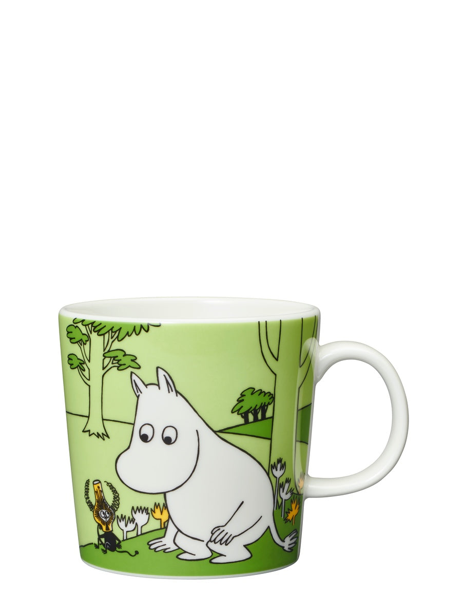Arabia Moomin Mug: Moomintroll Grass Green - Cloudberry Living