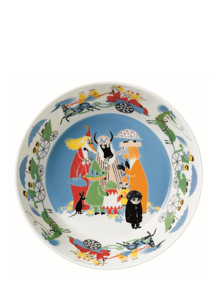 Arabia Moomin Friendship Serving Bowl, 23cm - Cloudberry Living