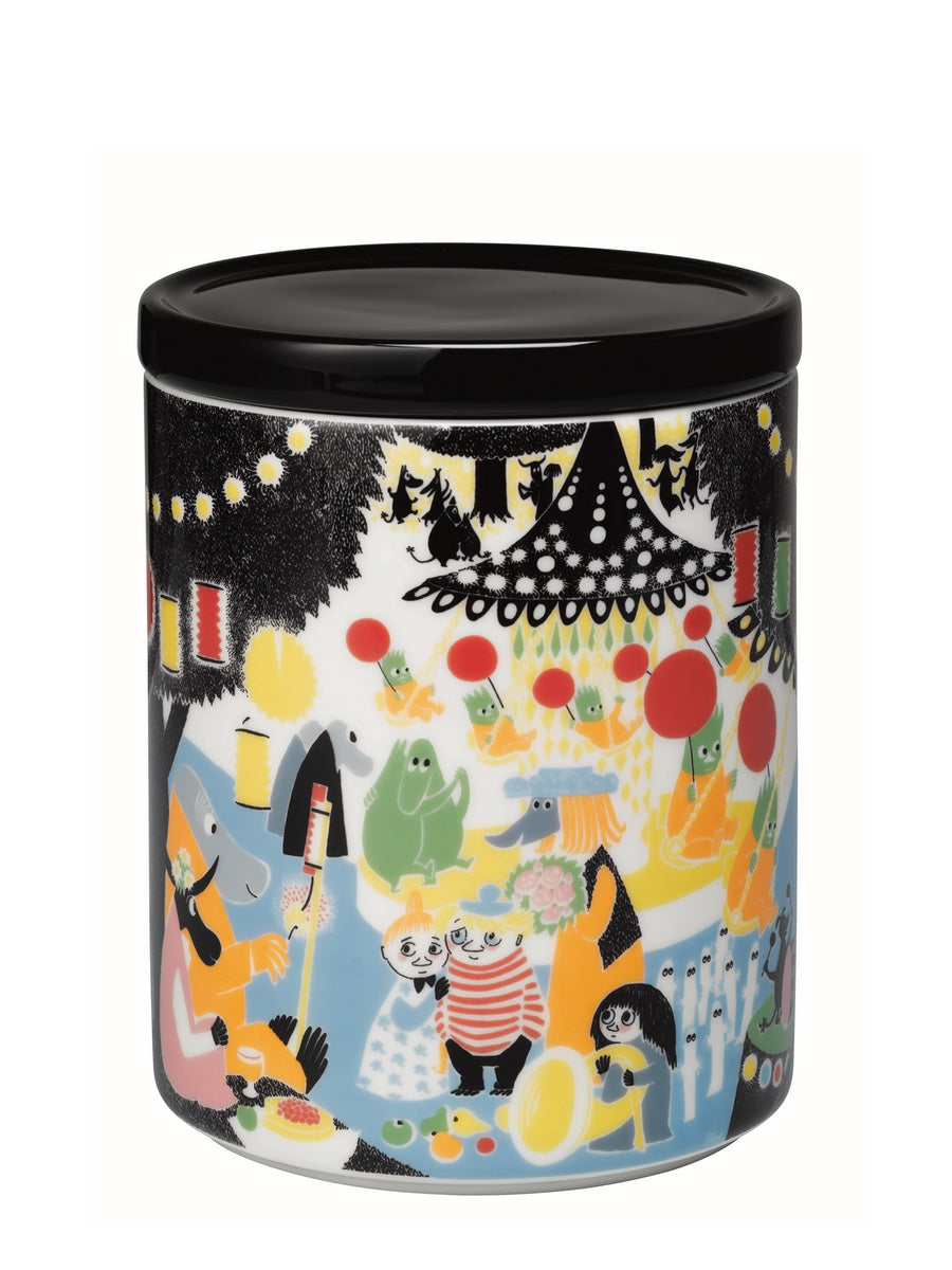 Arabia Moomin Friendship Storage Jar, 1.2L - Cloudberry Living