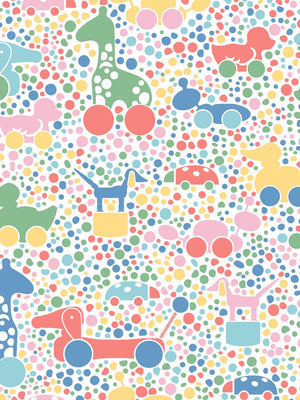 Boråstapeter Scandinavian Designers Minis Wallpaper BRIO Dots 6237 - 6238 - Cloudberry Living