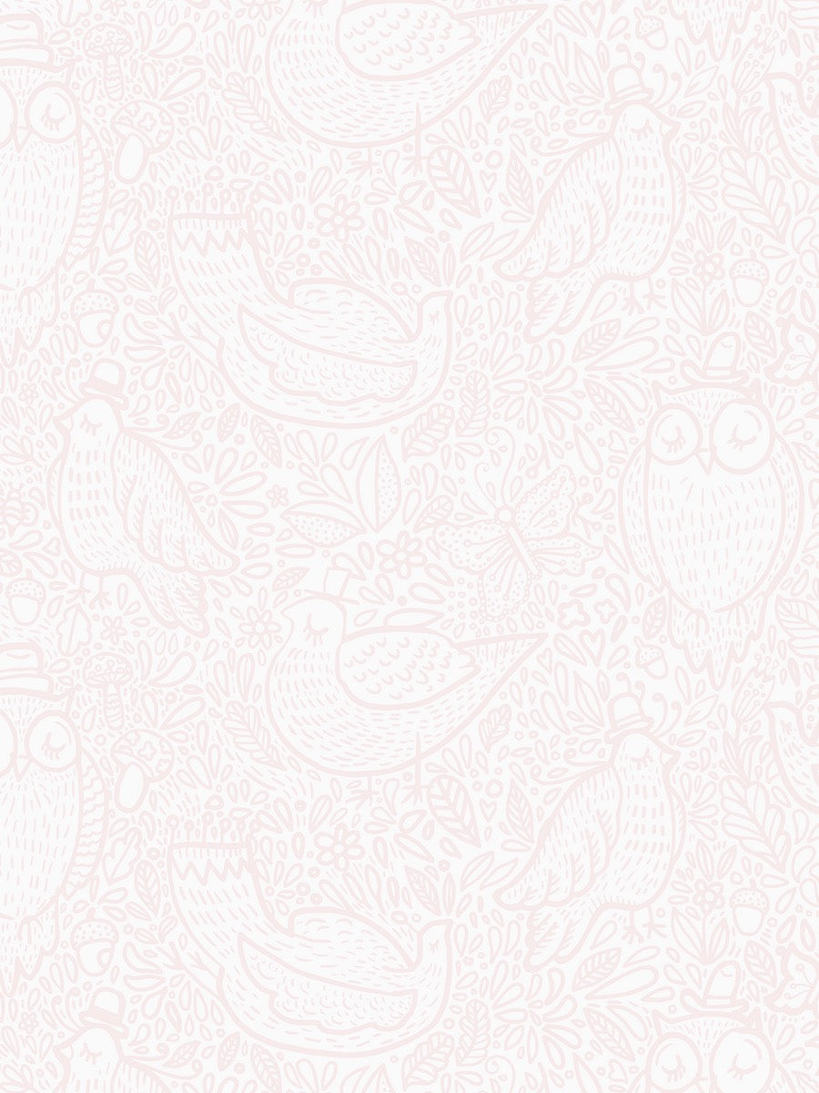 Boråstapeter Scandinavian Designers Mini Wallpaper Buddy Birds 6249 - 6250 - Cloudberry Living