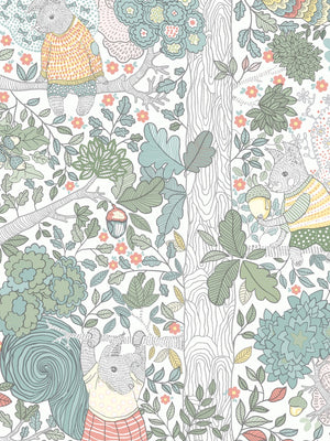 Boråstapeter Scandinavian Designers Mini Wallpaper Charlie 6251 - 6252 - Cloudberry Living