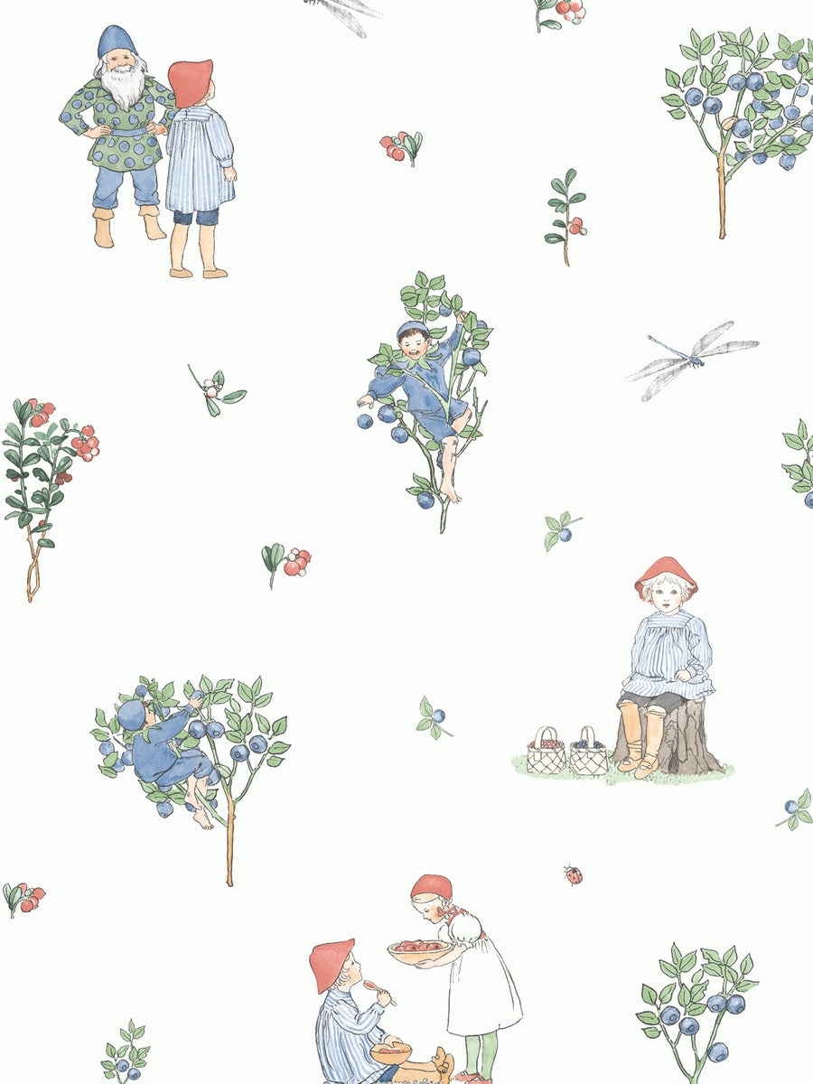 Boråstapeter Scandinavian Designers Minis Wallpaper Putte 6234 - Cloudberry Living