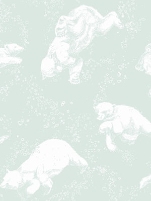 Boråstapeter Scandinavian Designers Mini Wallpaper Polarn 6258 - Cloudberry Living