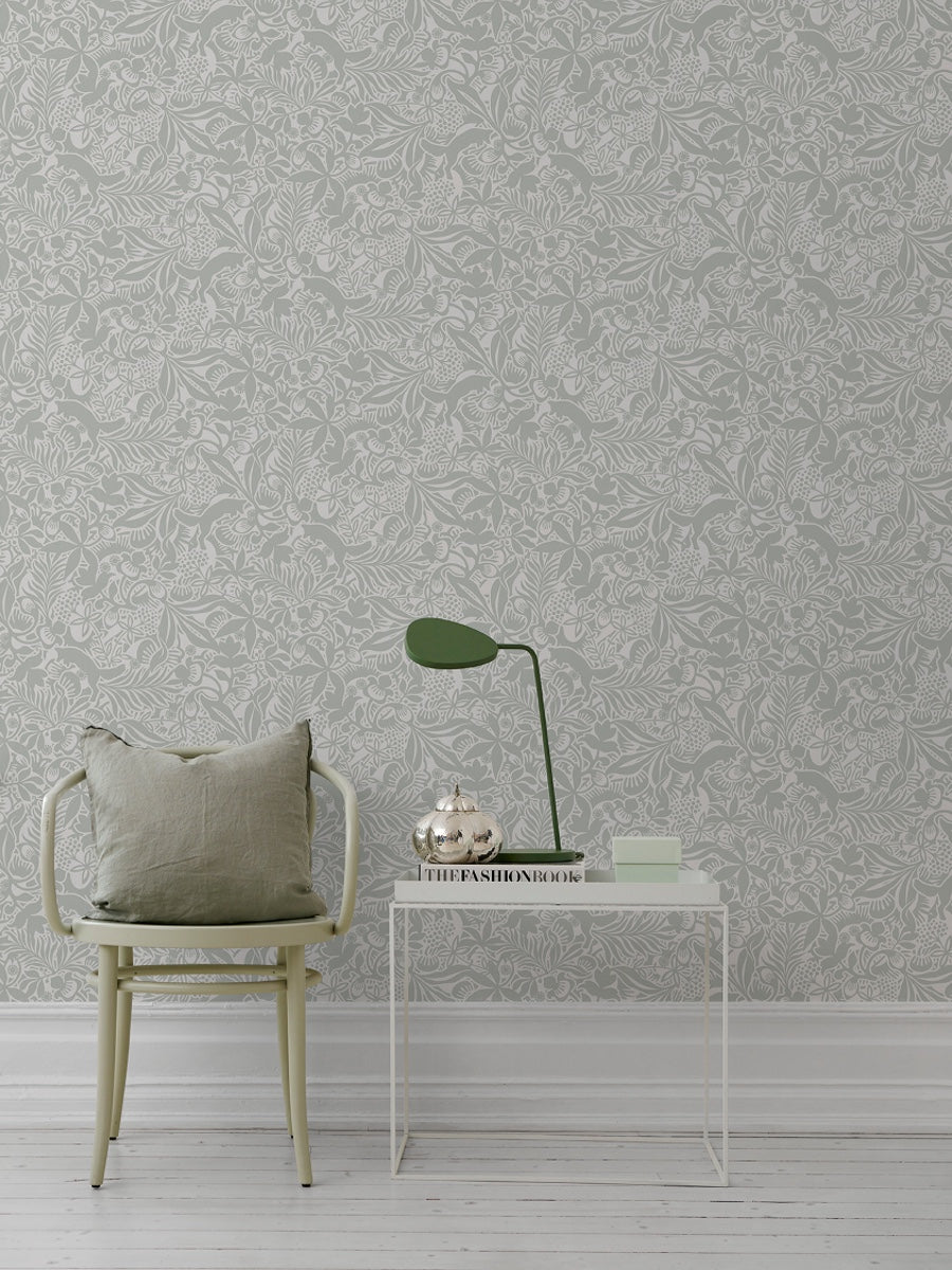 Boråstapeter Wonderland Collection by Hanna Werning Fantasia 1477 - 1478 - Cloudberry Living