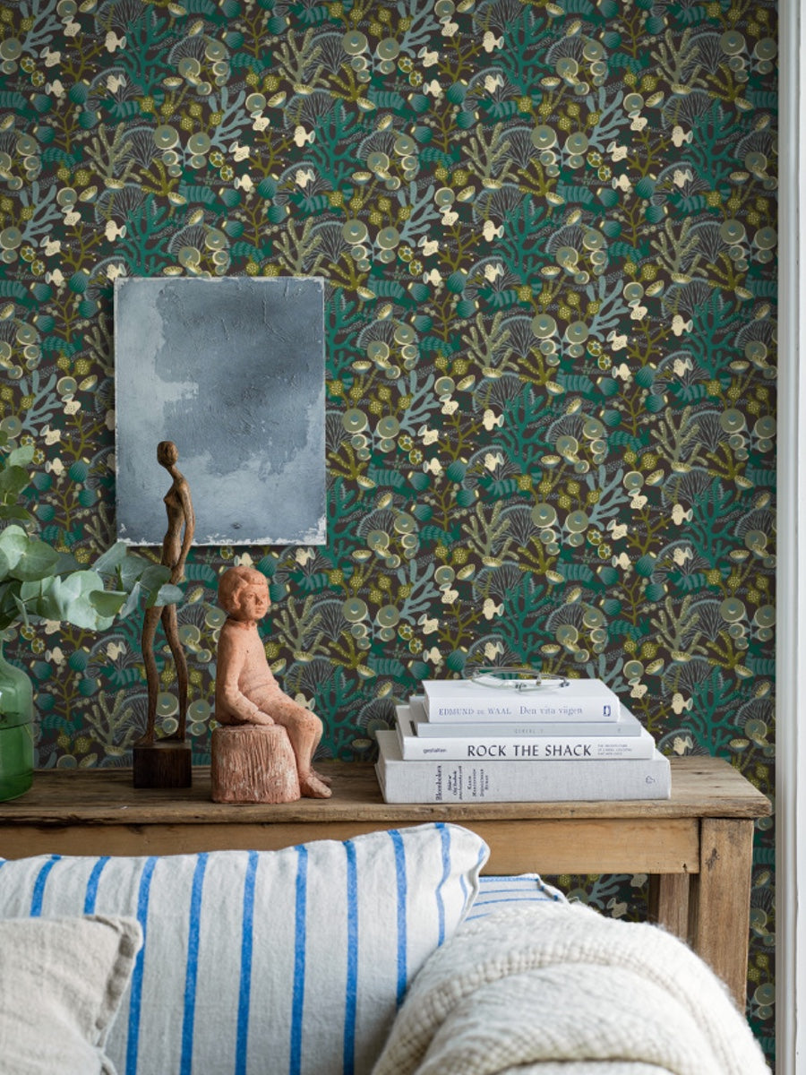 Boråstapeter Wonderland Collection by Hanna Werning Koralläng 1459 -  1462 - Cloudberry Living