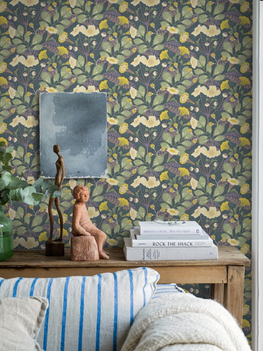 Boråstapeter Wonderland Collection by Hanna Werning Vildtuta 1474 - 1476 - Cloudberry Living