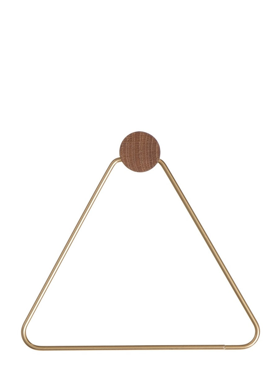 Ferm Living Brass Toilet Paper Holder - Cloudberry Living