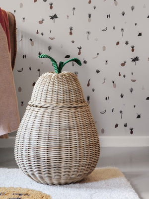 Ferm Living Pear Braided Storage Basket - Cloudberry Living