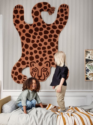 Ferm Living Safari Tufted Rug Leopard - Cloudberry Living