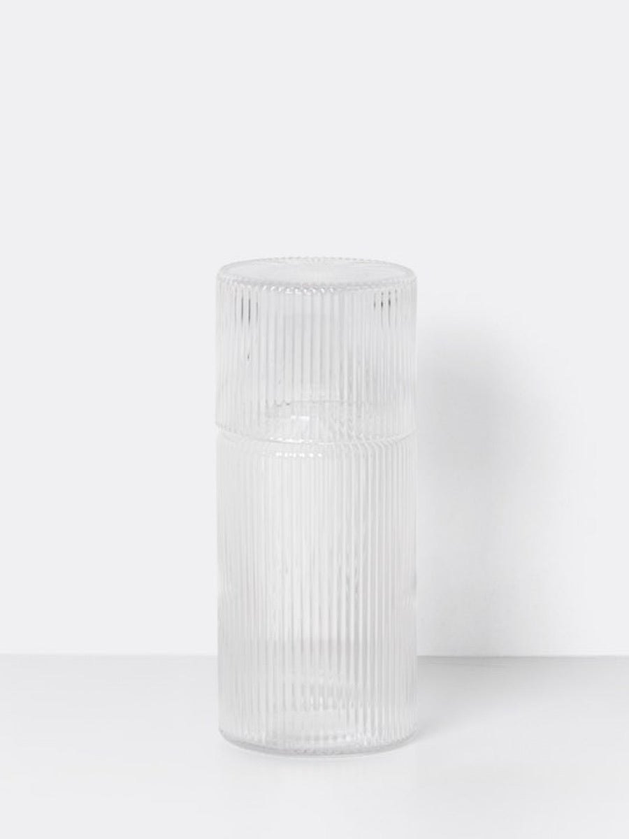 Ferm Living Ripple Small Carafe Set - Cloudberry Living