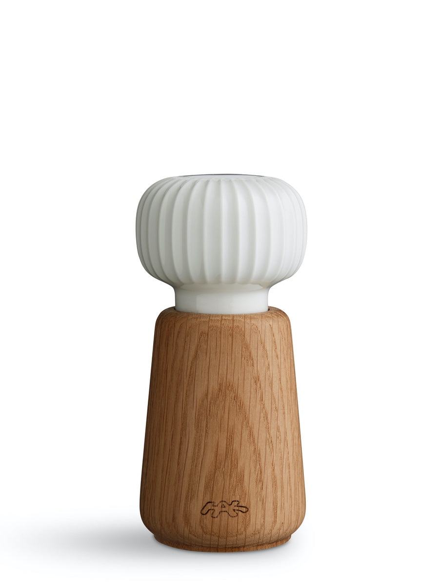 Kahler Hammershoi Salt/Pepper Grinder White - Cloudberry Living
