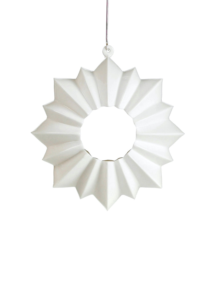 Kahler Stella Hanging Window Ornament/Tealight Holder - Cloudberry Living