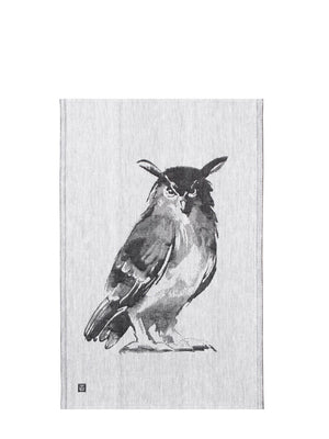 Lapuan Kankurit Owl (Huuhkaja) Tea Towel - Cloudberry Living