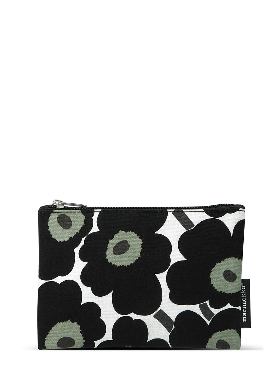 Marimekko Kaika Mini Unikko Cosmetic Bag Black - Cloudberry Living