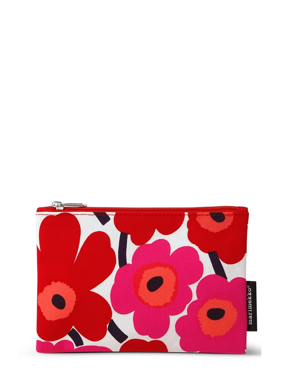 Marimekko Kaika Mini Unikko Cosmetic Bag Red - Cloudberry Living