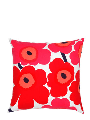 Marimekko Pieni Unikko Cushion Red - Cloudberry Living