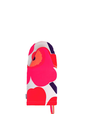 Marimekko Pieni Unikko Oven Mitt Red - Cloudberry Living