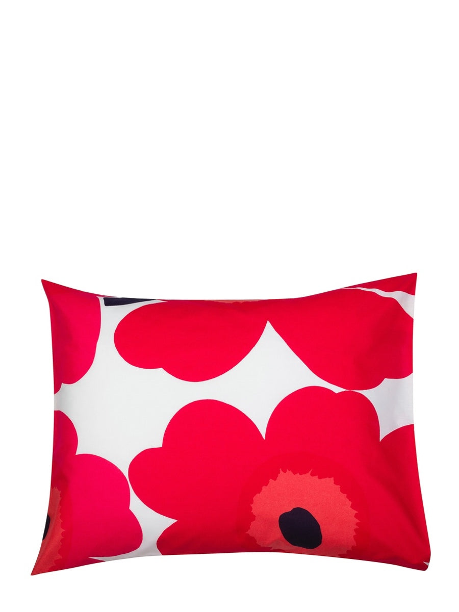 Marimekko Unikko Pillowcase Red - Cloudberry Living