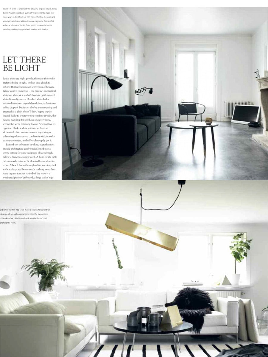 Monochrome Home Elegant Interiors in Black and White Book by Hilary Robertson - Cloudberry Living