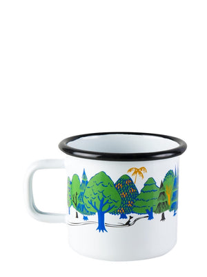 Muurla Moomin Colours Enamel Mug Moominvalley 3.7dl - Cloudberry Living