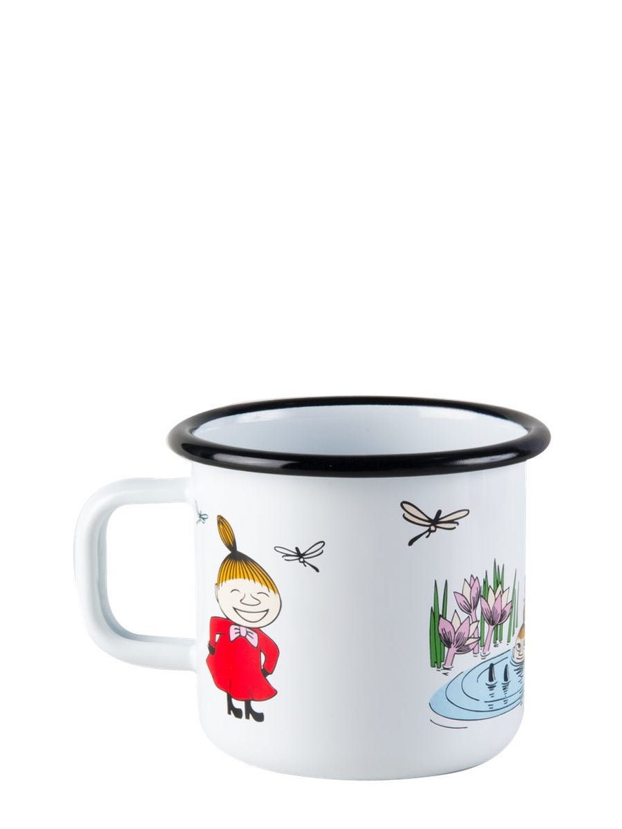 Muurla Moomin Colours Enamel Mug Little My 3.7dl - Cloudberry Living