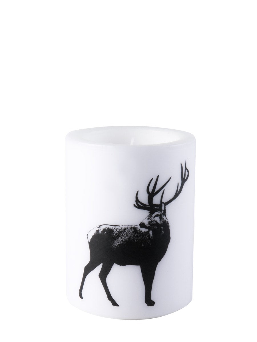 Muurla Nordic Series Candle The Deer 12 cm - Cloudberry Living