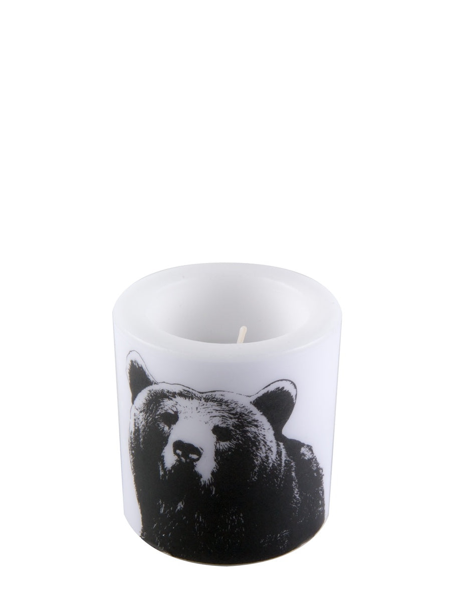 Muurla Nordic Series Candle The Bear 8 cm - Cloudberry Living