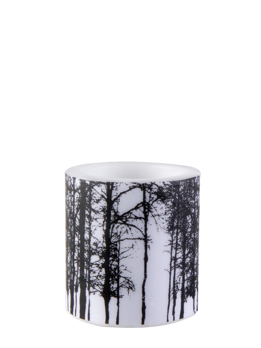 Muurla Nordic Series Candle Forest 8 cm - Cloudberry Living