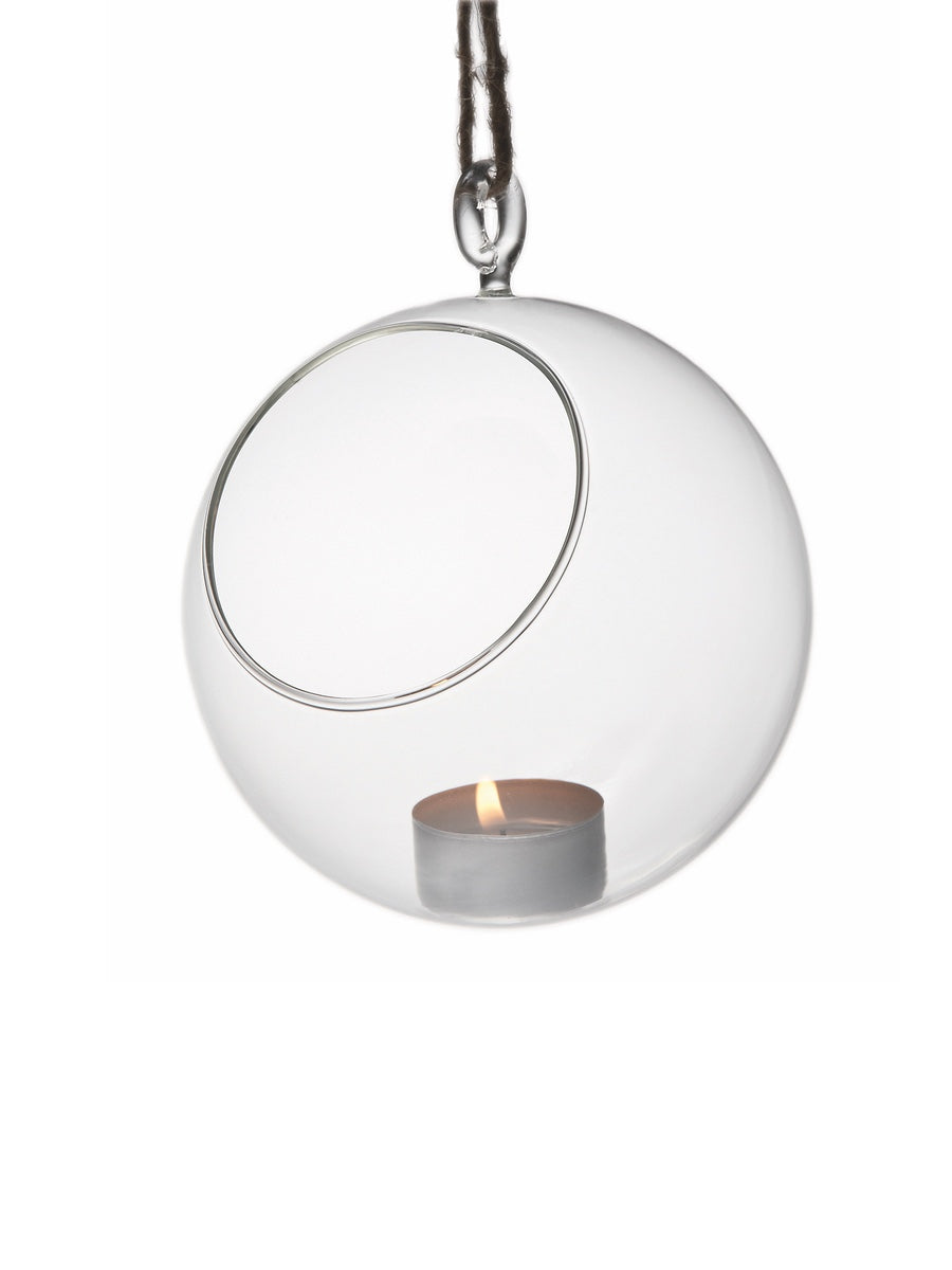Muurla Glass Decoration Ball Plant / Candle Holder - Cloudberry Living